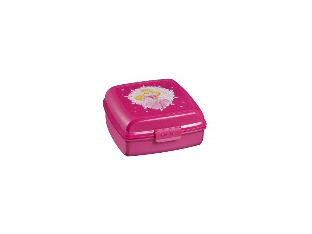 Svačinový  box 0,9 l - PRINCEZNY