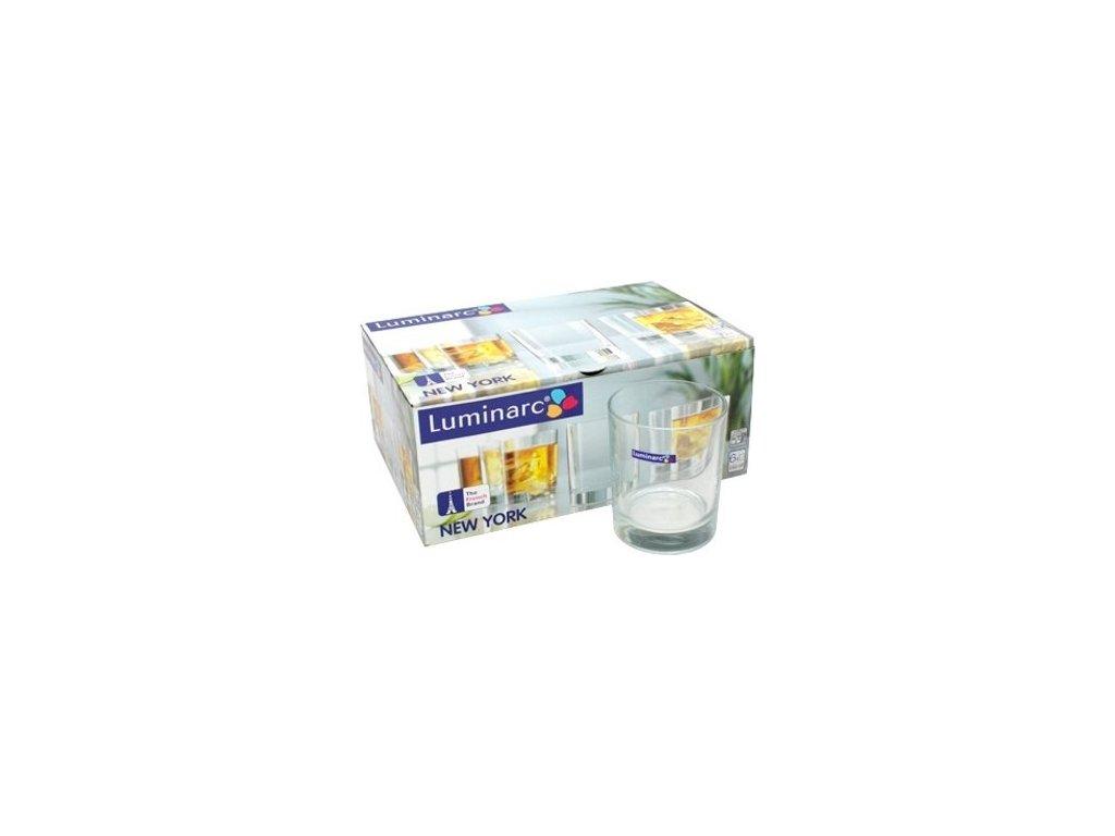 Short drink Luminarc New York, 6 ks, 250 ml