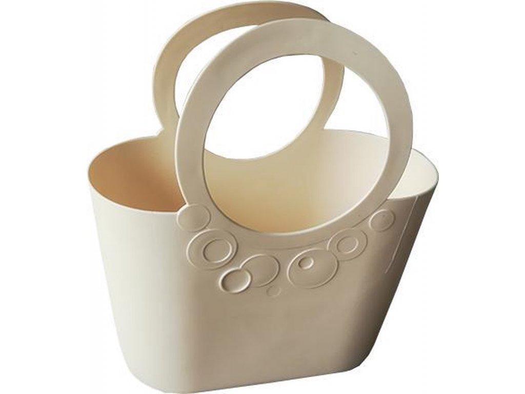 Plastová taška LILY 3,8l ITLI240 krémová