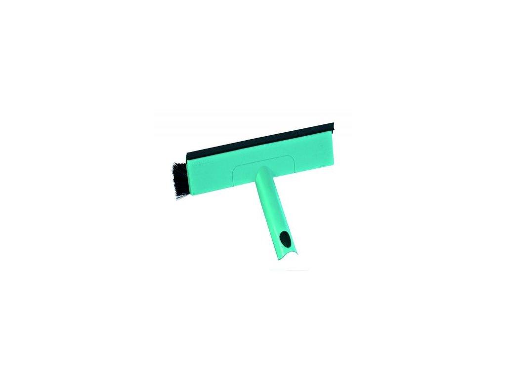 Stěrka na okna s kartáčem a teleskopickou tyčí