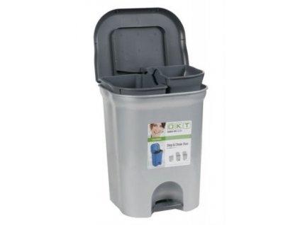 Odpadkový koš Step-Close DUO