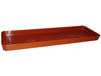 Miska pod truhlík 60 cm terracota PLASTY-KO
