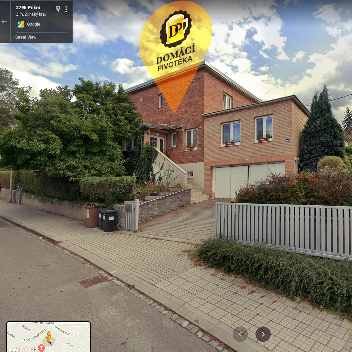 Adresa-Příkrá-Zlín