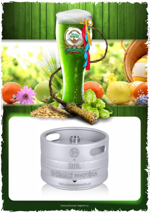 zelené pivo sud 20litrů