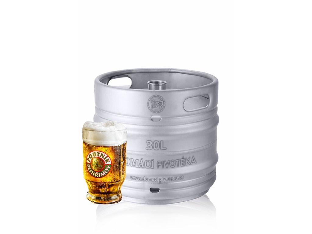 poutnik jedenactka 30l sud piva