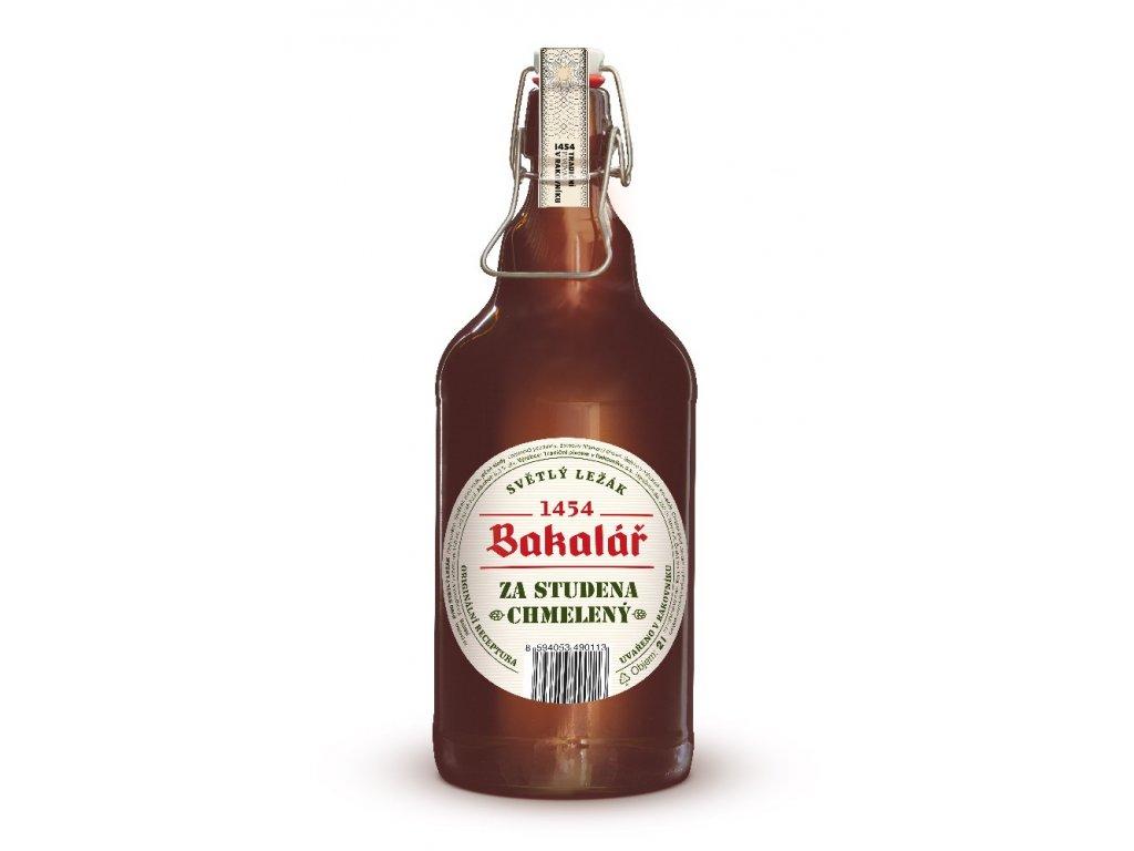 Bakalář světlý ležák za studena chmelený - 2L džbán piva