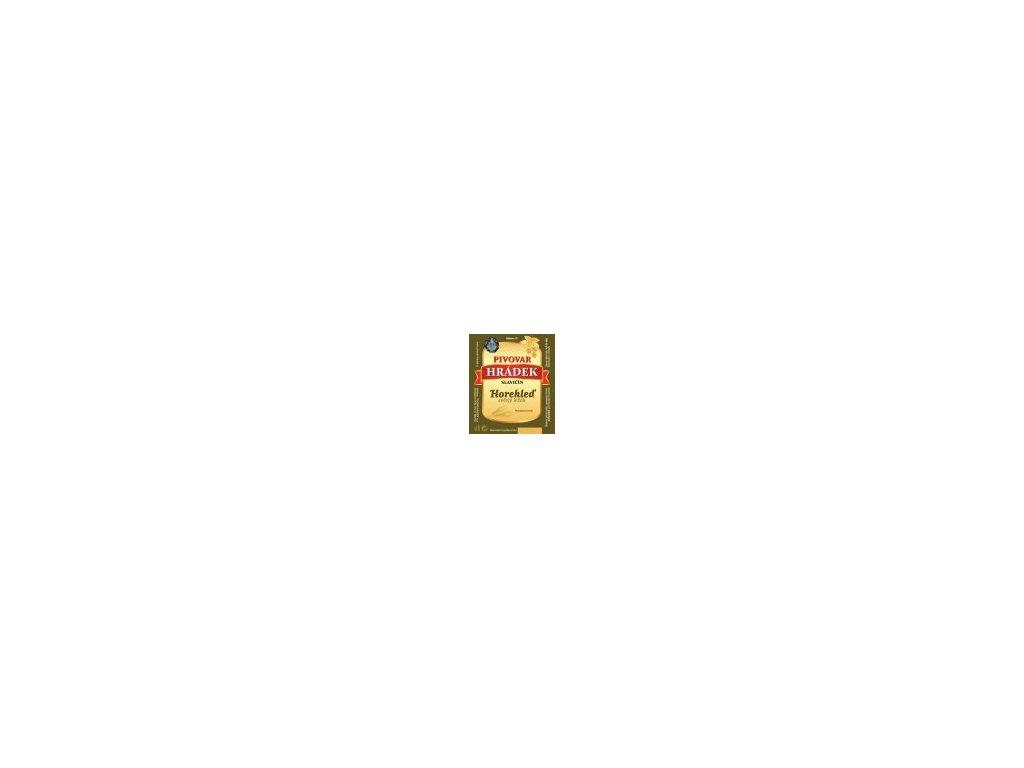 HRÁDEK - Horehleď 12° světlý ležák - 20L sud piva