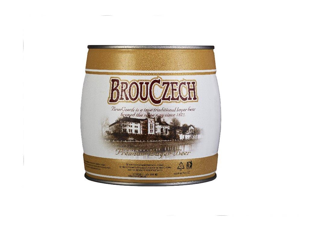 NOVÁ PAKA BROUCZECH - 3,1L PIVNÍ SOUDEK