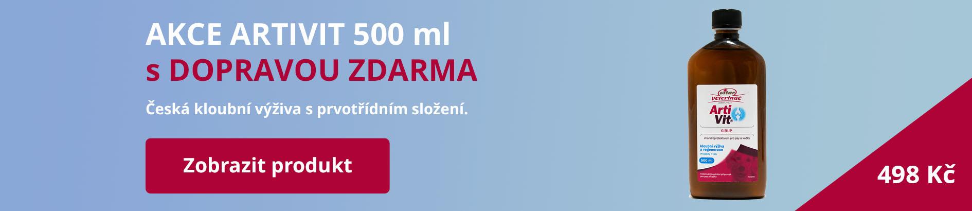 Artivit 500 ml v akci s dopravou zdarma