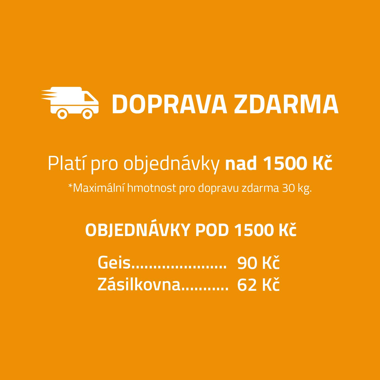 Cena dopravy u DomacíMazel.cz
