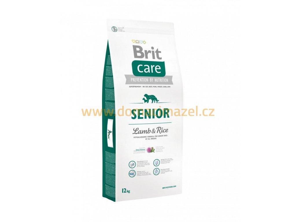 Brit Care Senior Jehněčí & Rýže 12 kg