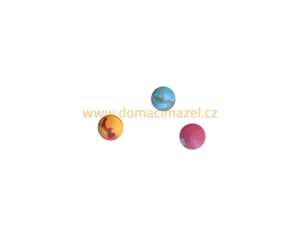 Ball 0 3.5cm scented solid rubber pet toy dog, cat Essenti Enterprises, LLC importer, exporter, supplier, distributor of pet products