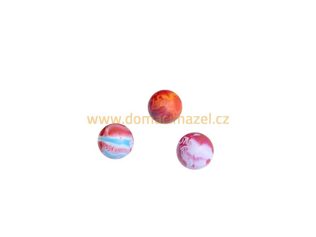 Gumový míček (průměr 5 cm)   Domácí Mazel, chovatelské potřeby hlučín