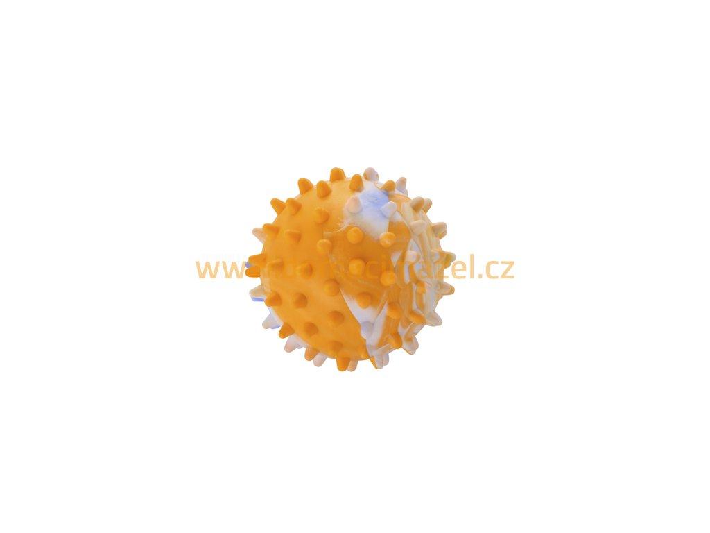 Gumový míček s ostny (průměr 5,5 cm) | Domacimazel.cz