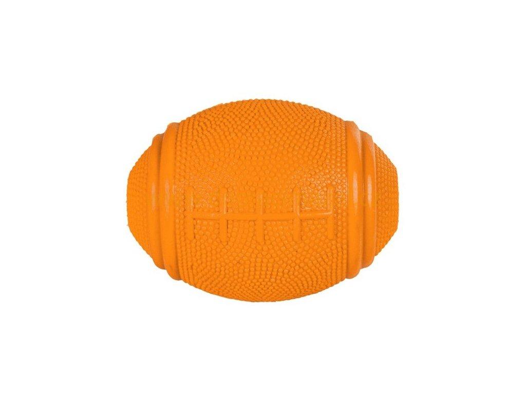 mic rugby na pamlsky tvrda guma 8cm trixie domaci mazel