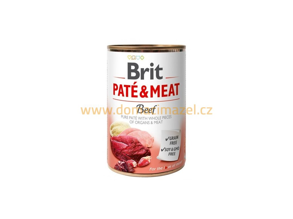 brit pate meat 400g beef 94