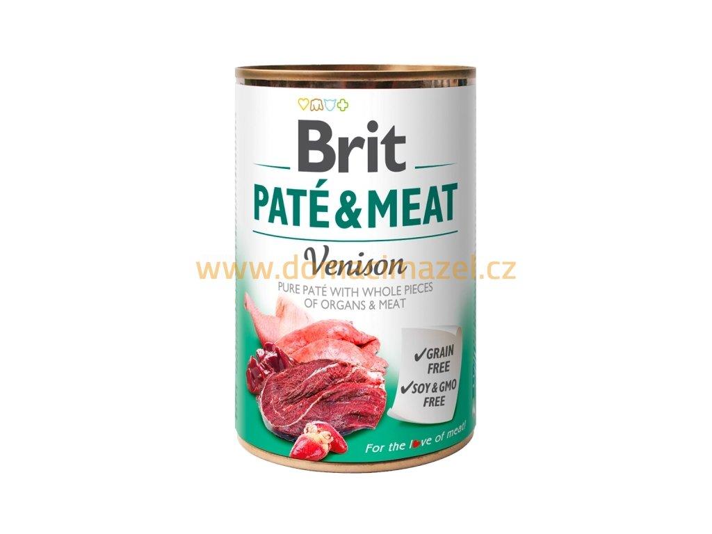 Brit Paté & Meat zvěřina konzerva - 400 g