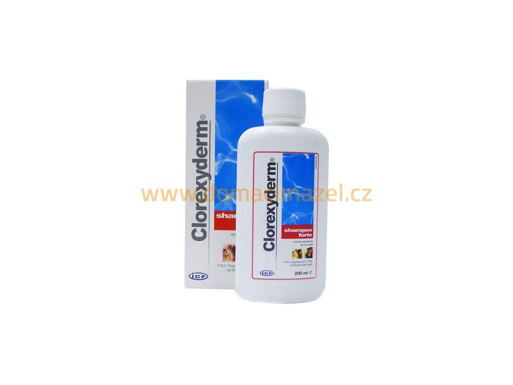 3635 clorexyderm forte sampon icf 200ml