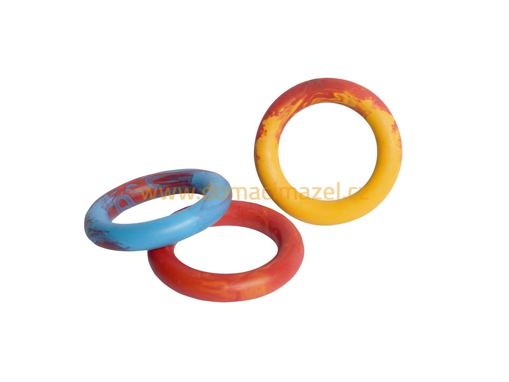 Ring 16cm scented solid rubber pet toy dog Essenti Enterprises, LLC importer, exporter, supplier, distributor of pet products