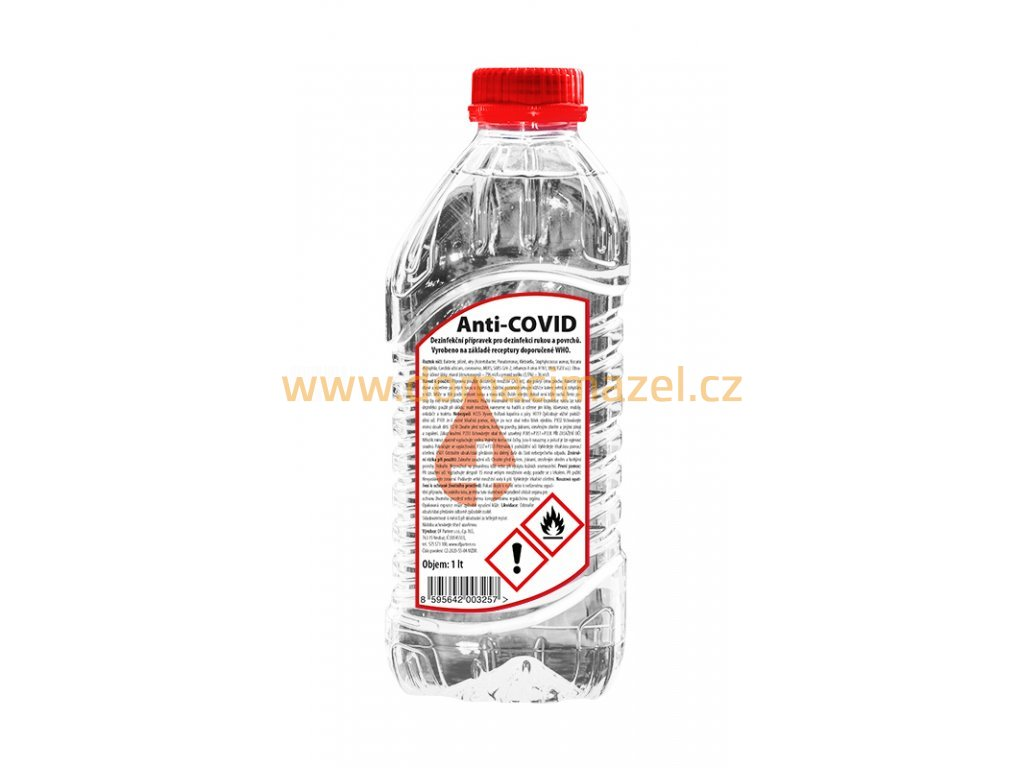 129671 anti covid dezinfekce 1 l