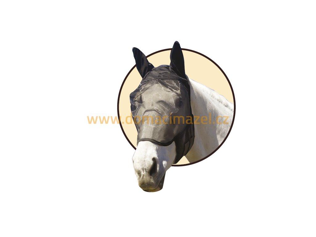 Absorbine Ultrashield EX maska proti hmyzu s ušima velikost Malý kůň (small horse)