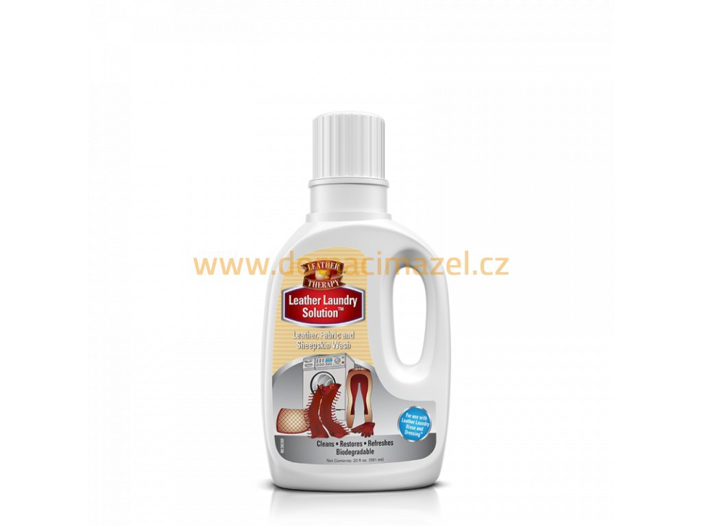 Absorbine Leather Therapy, Leather laundry solution pro automatické pračky, láhev 591 ml