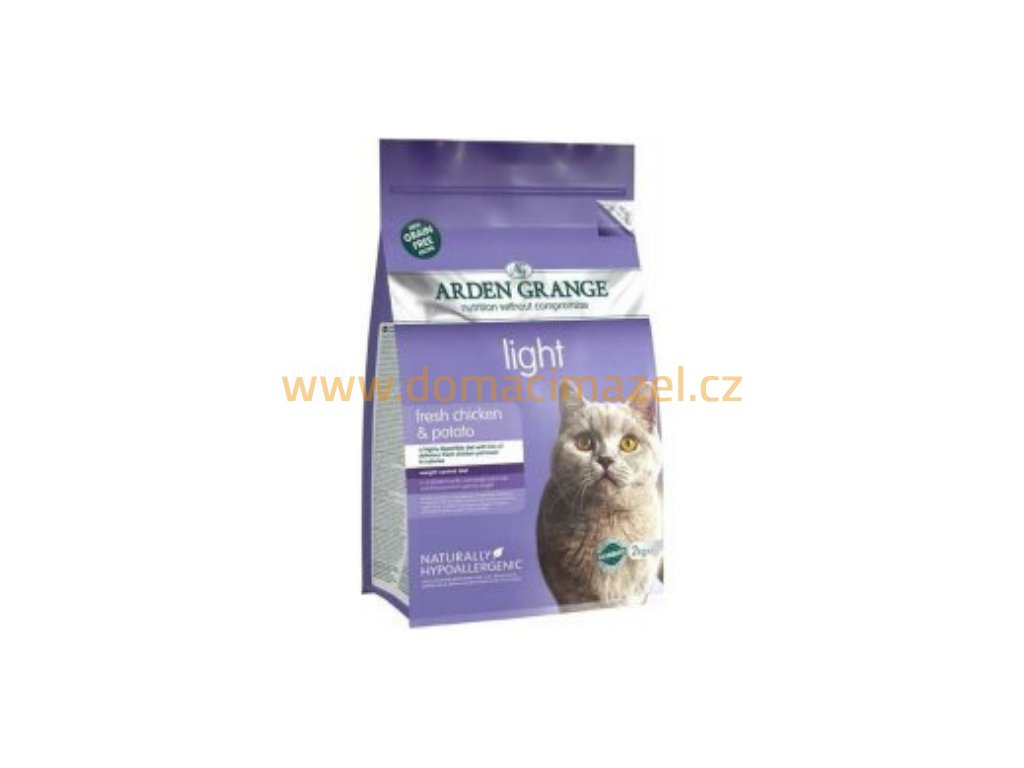 Arden Grange Adult Cat Light with Chicken & Potato grain free