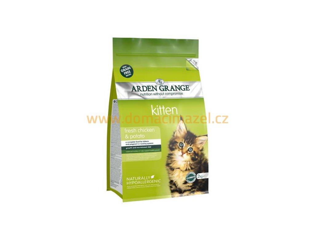 Arden Grange Kitten with fresh Chicken & Potato grain free