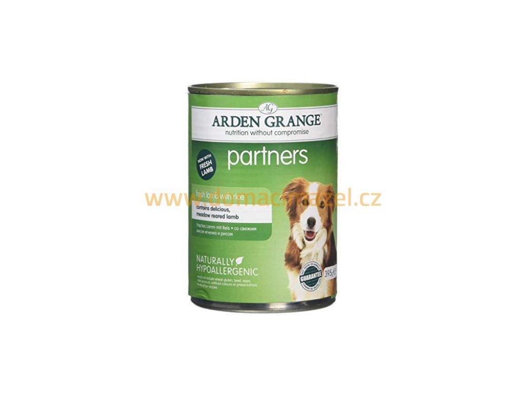 Arden Grange Partners fresh Jehněčí s rýží & zeleninou 395 g