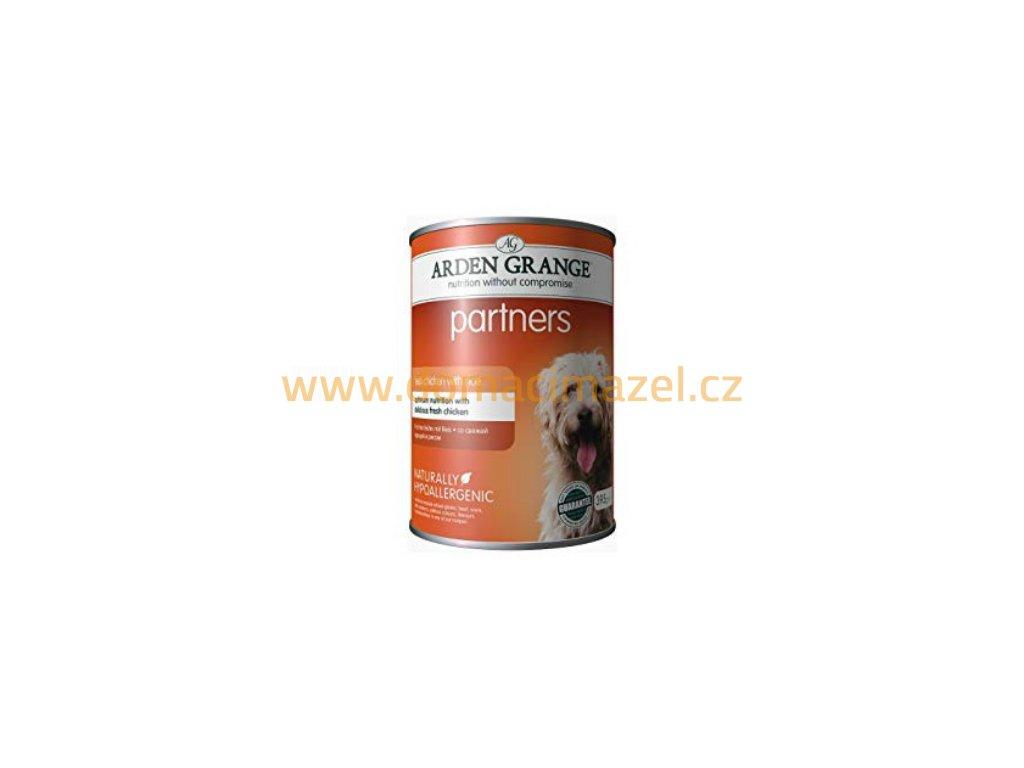 Arden Grange Partners fresh Kuře s rýží & zeleninou 395 g