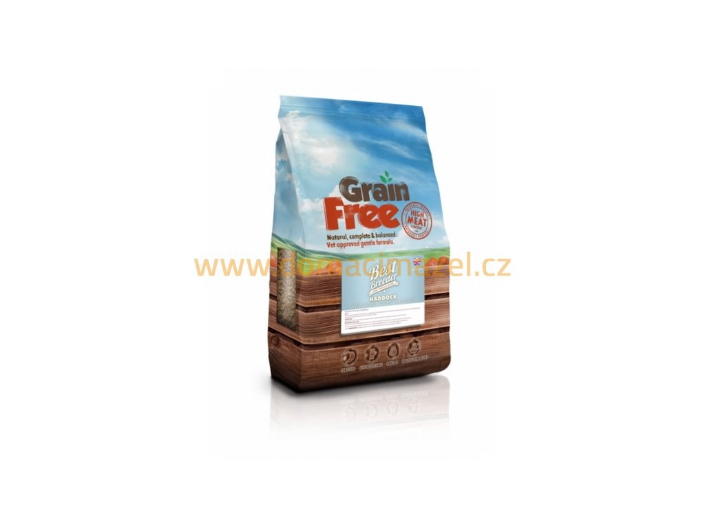 Best Breeder Grain Free Haddock with Sweet Potato & Parsley