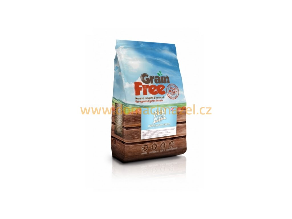 Best Breeder Grain Free Light Trout with Salmon, Sweet Potato & Asparagus
