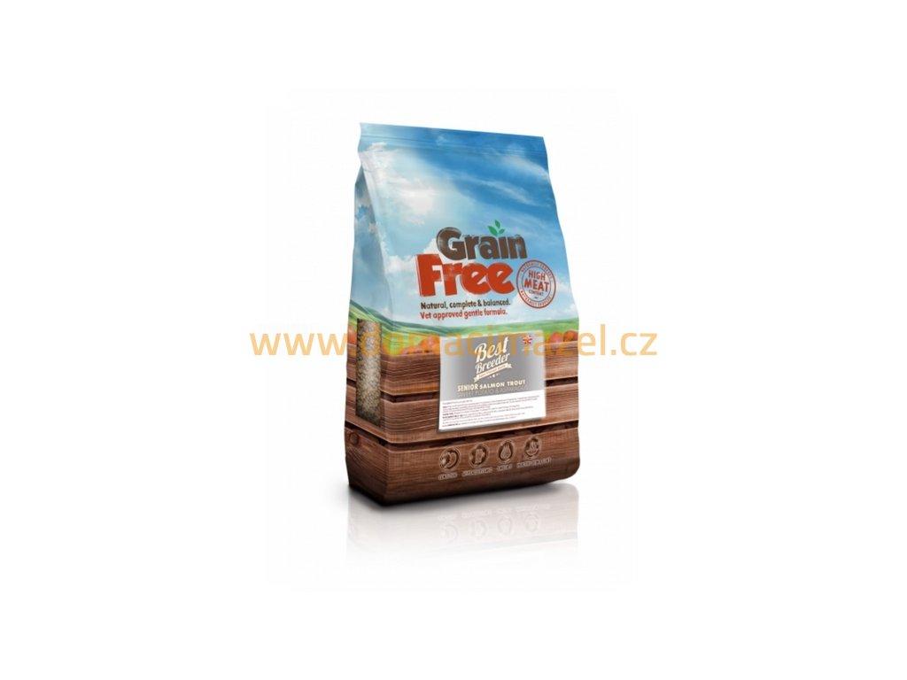 Best Breeder Grain Free Senior Trout with Salmon, Sweet Potato & Asparagus
