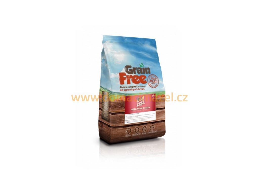 Best Breeder Grain Free Small Breed Chicken, Sweet Potato & Herb