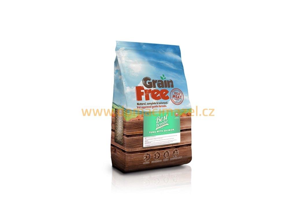 Best Breeder Grain Free Tuna with Salmon, Sweet Potato and Broccoli