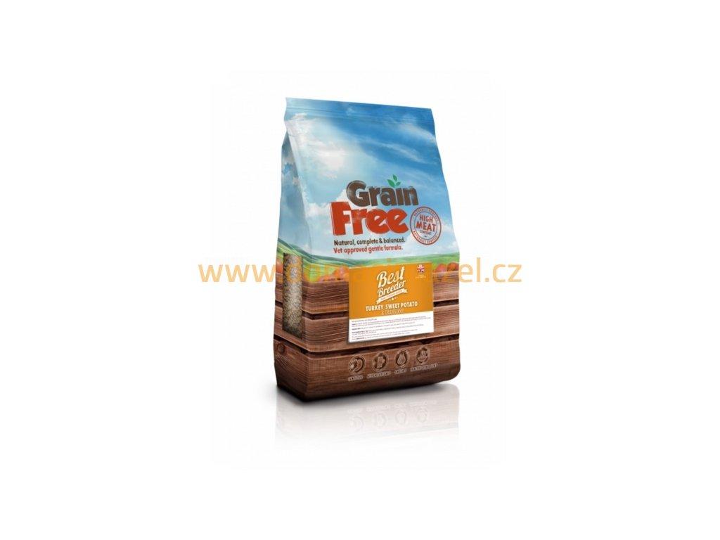 Best Breeder Grain Free Turkey, Sweet Potato & Cranberry