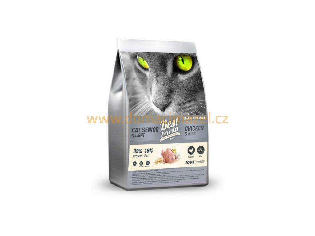 Best Breeder Senior Cat / Light Rich in Chicken and Rice