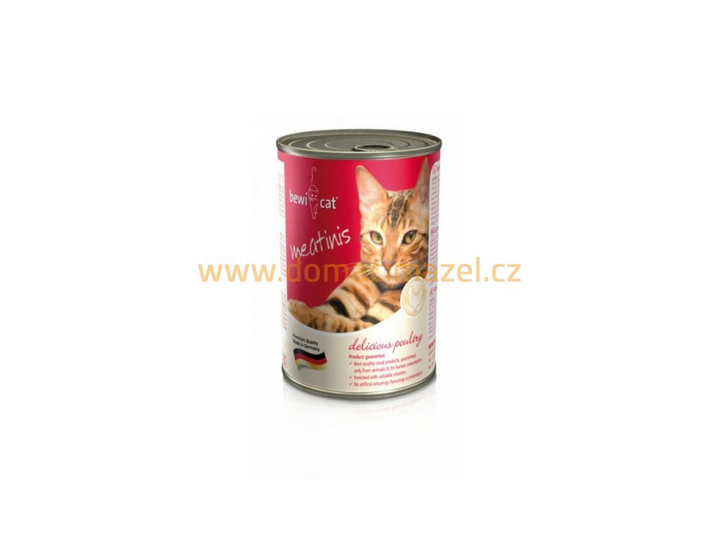 Bewi Cat Meatinis - Drůbež 400 g