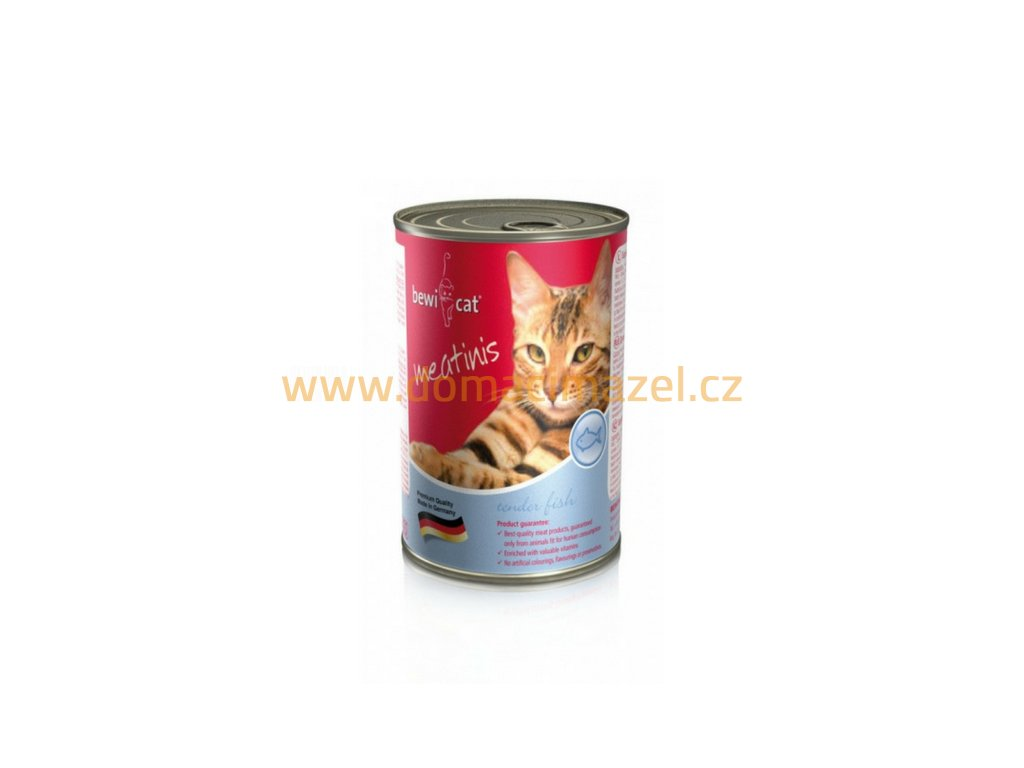 Bewi Cat Meatinis - Ryba 400 g