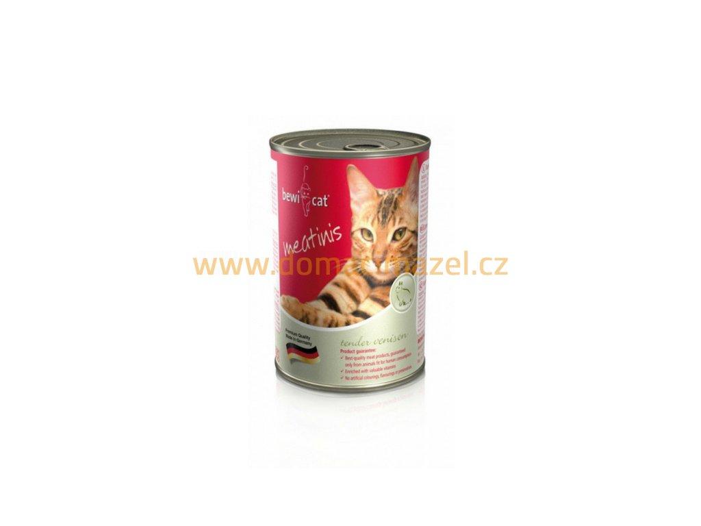 Bewi Cat Meatinis - Zvěřina 400 g