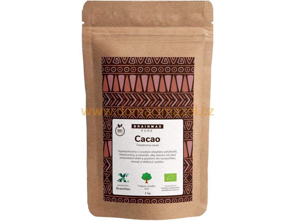 BrainMax Pure Cacao, Bio Kakao z Peru, 1000 g