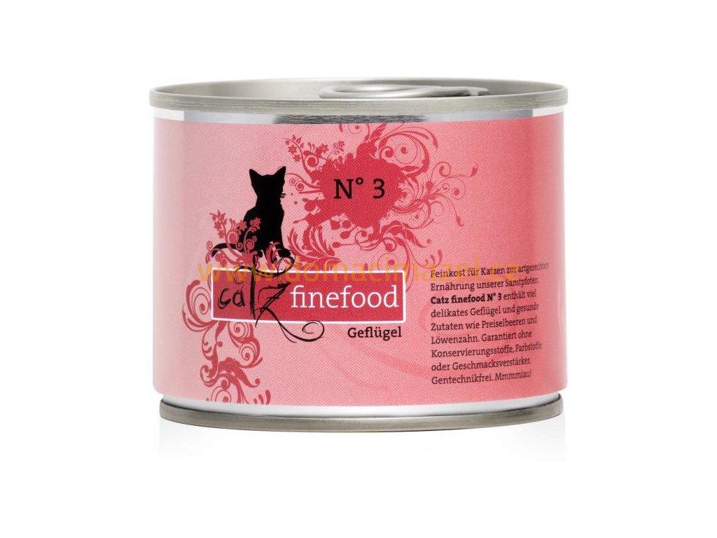 Catz FineFood konzerva s drůbežím masem - 200 g