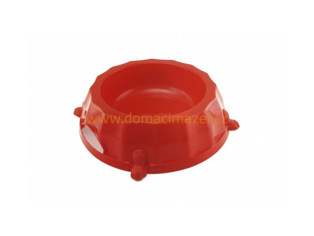 plastova miska s protiskluzovymi nozkami 1 5 l pro psy domaci mazel