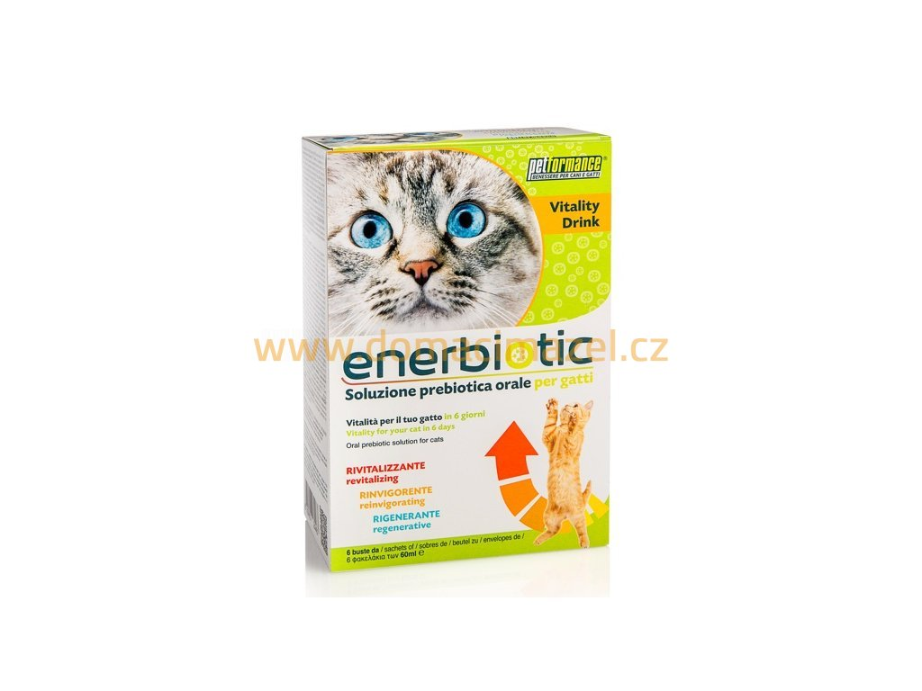 154 enerbiotic cat 6ti denni prebioticka kura pro kocky