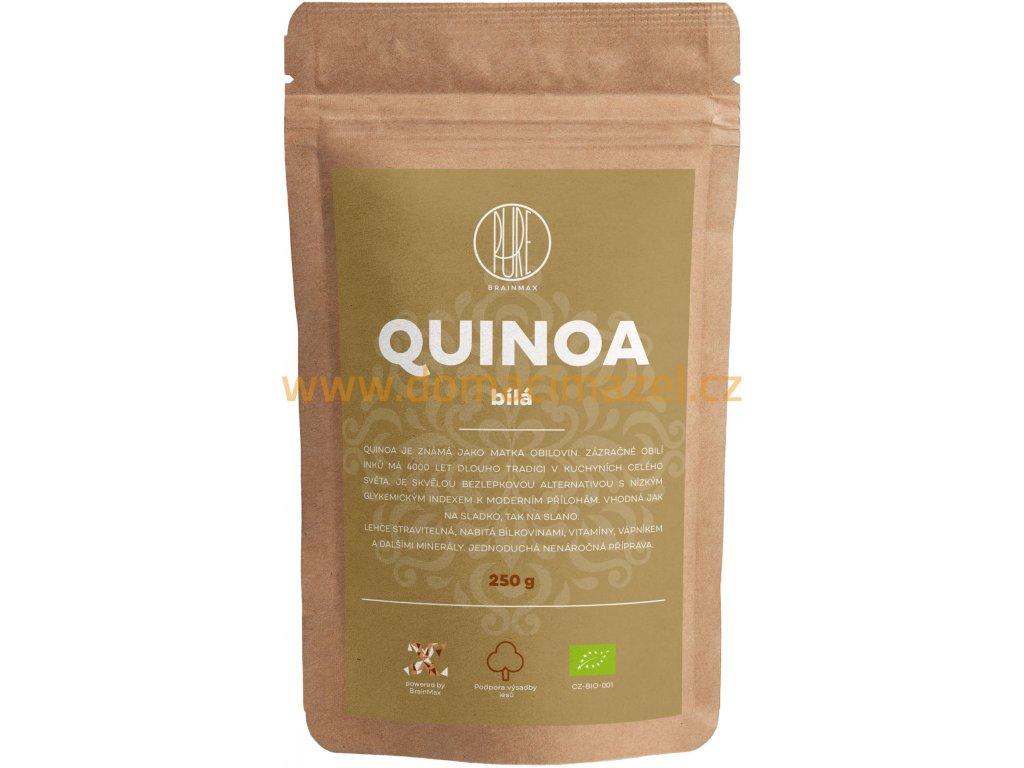 BrainMax Pure Quinoa BIO - bílá, 250 g