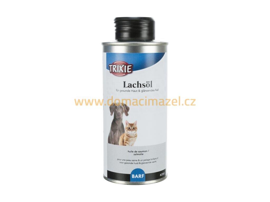 60428 trixie lososovy olej 250 ml