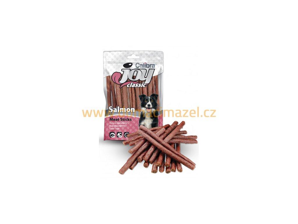 calibra joy dog classic salmon sticks 80g new