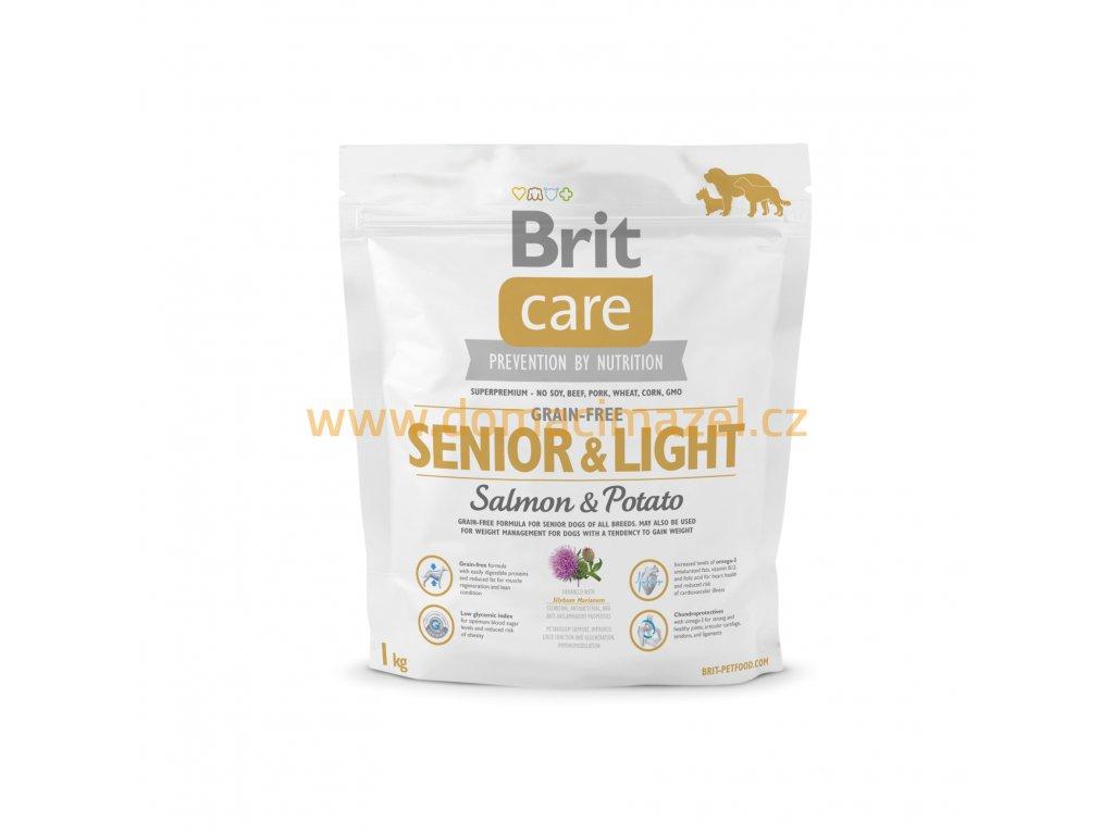 Brit Care Grain free Senior&Light Salmon & Potato