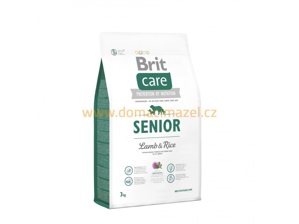 Brit Care Senior Lamb & Rice 3 kg 2