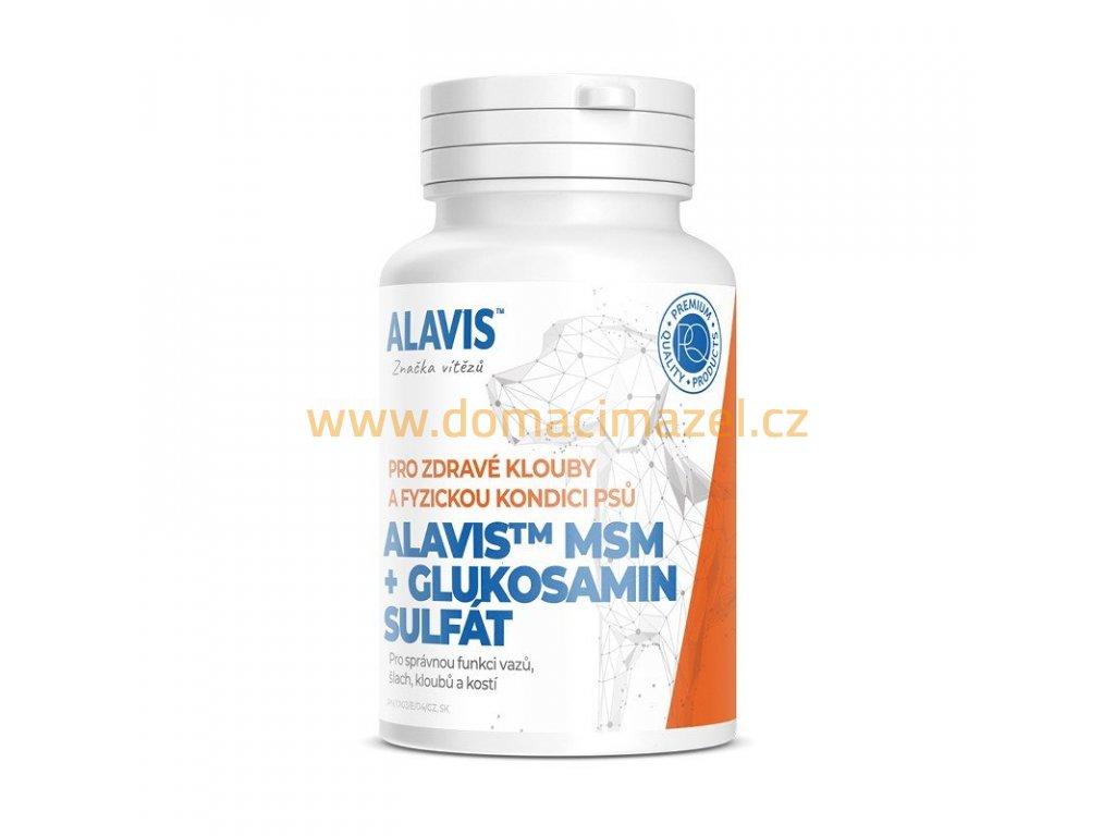 ALAVIS MSM Glukosamin sulfat 60tbl 2402202115525687710